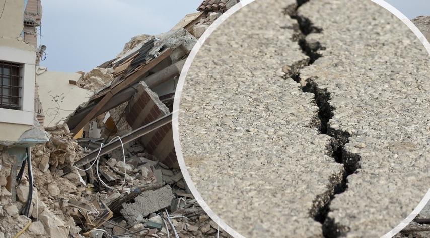 misurazione del danno e dell'azione sismica